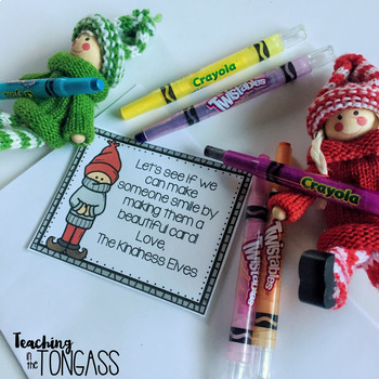 Classroom Elf Notes Free EDITABLE