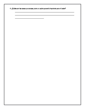 A Note to Parents & Parent Questionnaire English/Spanish Editable