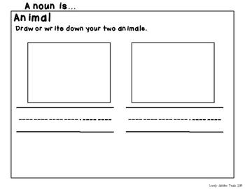 A Noun is... Noun Practice: Identifying and Sorting Nouns.