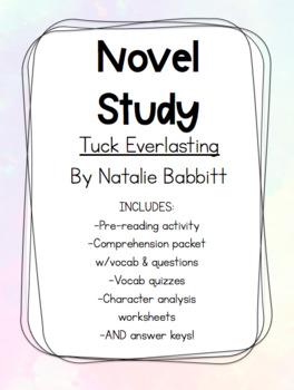 A Novel Study - Tuck Everlasting