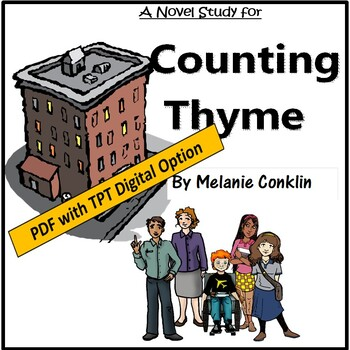 A Novel Study for Counting Thyme by Melanie Conklin