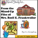 A Novel Study for From the Mixed-Up Files of Mrs. Basil E. Frankweiler