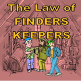 A Novel Study for The Law of Finders Keepers by Sheila Turnage
