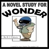 WONDER, by R.J. Palacio: A PDF Novel Study