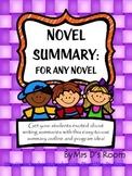 A Novel Summary For Any Novel