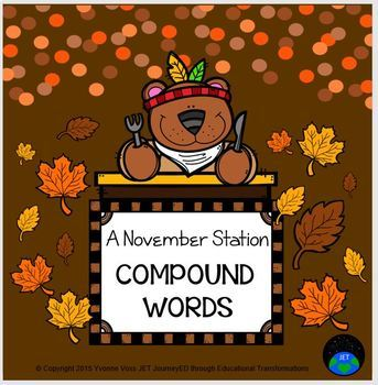 A November Compound Word Station