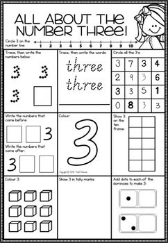 A Number A Day Printables in Victorian Cursive Font