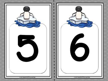 A Number Of Penguins:  LOW PREP Penguin Themed Number Sorting Activity