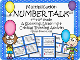 A Number Talk Drama Circle Activity for Multiplication