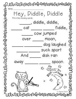 A Nursery Rhymes Literacy and Math Unit