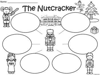 A+  Nutcracker ... Three Graphic Organizers