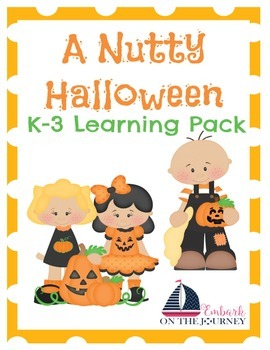 A Nutty Halloween Learning Pack