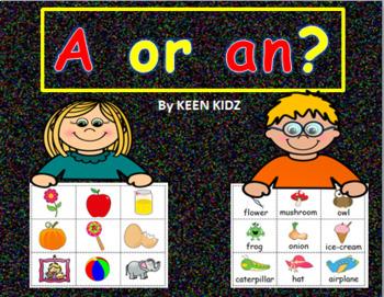 A OR AN