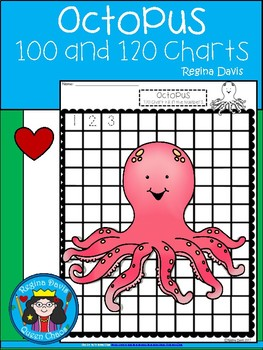 A+ Octopus: Numbers 100 and 120 Chart
