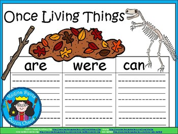 A+ Once Living Things...Three Graphic Organizers