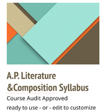 A.P (Advanced Placement) Literature & Composition approved