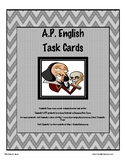 A.P. English Task Cards