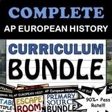 AP European History / AP Euro - Full Curriculum Bundle - Google Drive!