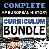 AP European History / AP Euro - Full Curriculum Bundle - G