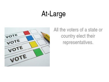 A.P. Government Word Wall: Elections