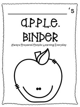 A.P.P.L.E. Binder Cover