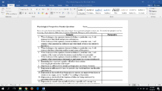 A.P. Psychology Perspectives Worksheet