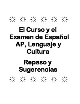 APs Spanish Language & Culture Review and Ideas