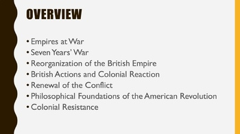 A.P. U.S. History Period 3 Notes and PPT: Imperial Wars and Colonial Conquest