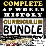 AP World History: Modern - Full Curriculum Bundle - 90% Pa