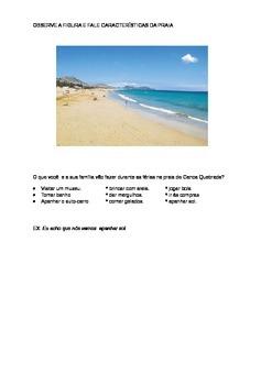 A PRAIA / AT THE BEACH