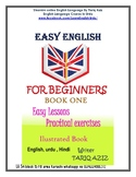 "A PRECIOUS ILLUSTRATED "" ENGLISH BOOK ONE "" FOR BEGINNERS"