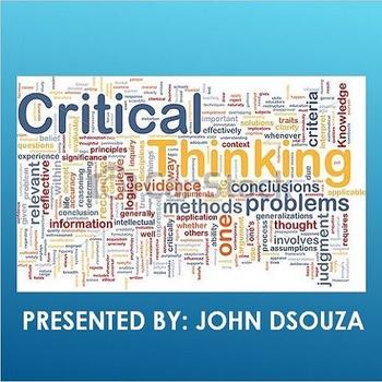 CRITICAL THINKING: PRESENTATION