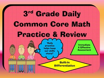 A PROBLEM A DAY COMMON CORE MATH REVIEW: GRADE 3