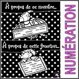 À PROPOS DE CE NOMBRE / À PROPOS DE CETTE FRACTION