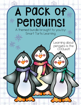 A Pack of Penguins Activity Bundle