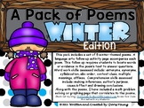 A Pack of Poems: Winter and Snow Poetry for Journals