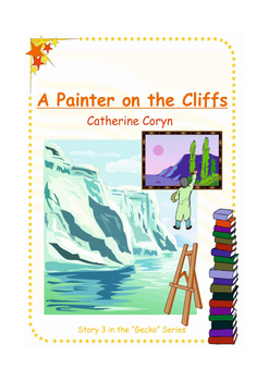 """A Painter on the Cliffs - Story for Emergent Readers - Developing """"l"""" blends"""