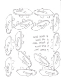 A Pair of Red Clogs Clog Counting and Coloring Worksheet
