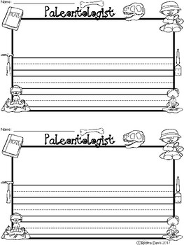 A+ Paleontologist... Writing Paper