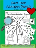 A+ Palm Tree Alphabet Search and Alphabet Cards