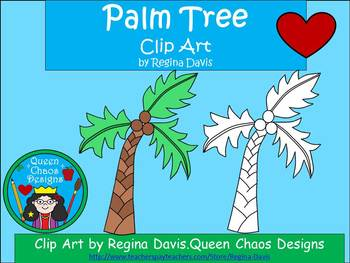 A+ Palm Tree Clip Art