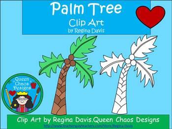 A+ Palm Tree Clip Art