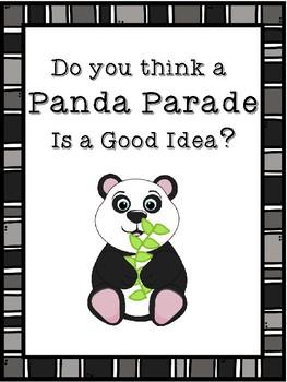 A Panda Parade is a Terrific Idea!