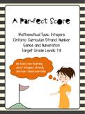A Par-fect Score: Integers