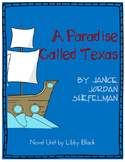 A Paradise Called Texas- Novel Unit