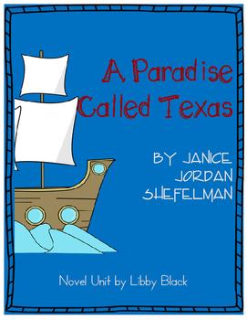 A Paradise Called Texas- Novel Unit