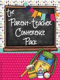 ~*Parent Teacher Conference Pack *EDITABLE*~