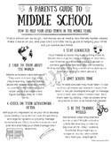 A Parent's Guide to Middle School