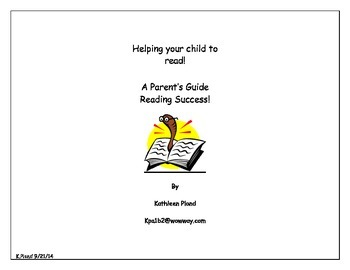 A Parent's Guide to Reading Success