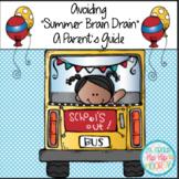 "Summer Activities for the Primary Child...Avoid Summer ""Brain Drain""!"